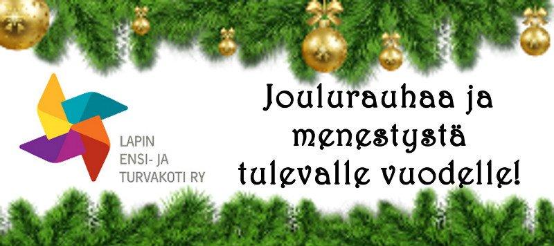 Oikein hyvää ja rauhallista joulua…