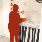 Vauvatalon vauvanhoitotila