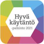 Hyvä käytäntö-palkinto 2021