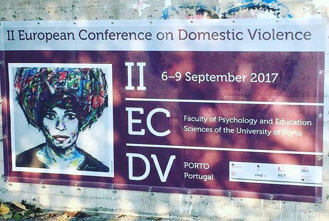 Väkivaltatyön tiimi lähettää terveisiä Portugalista #konferenssi #uuttaoppimassa
