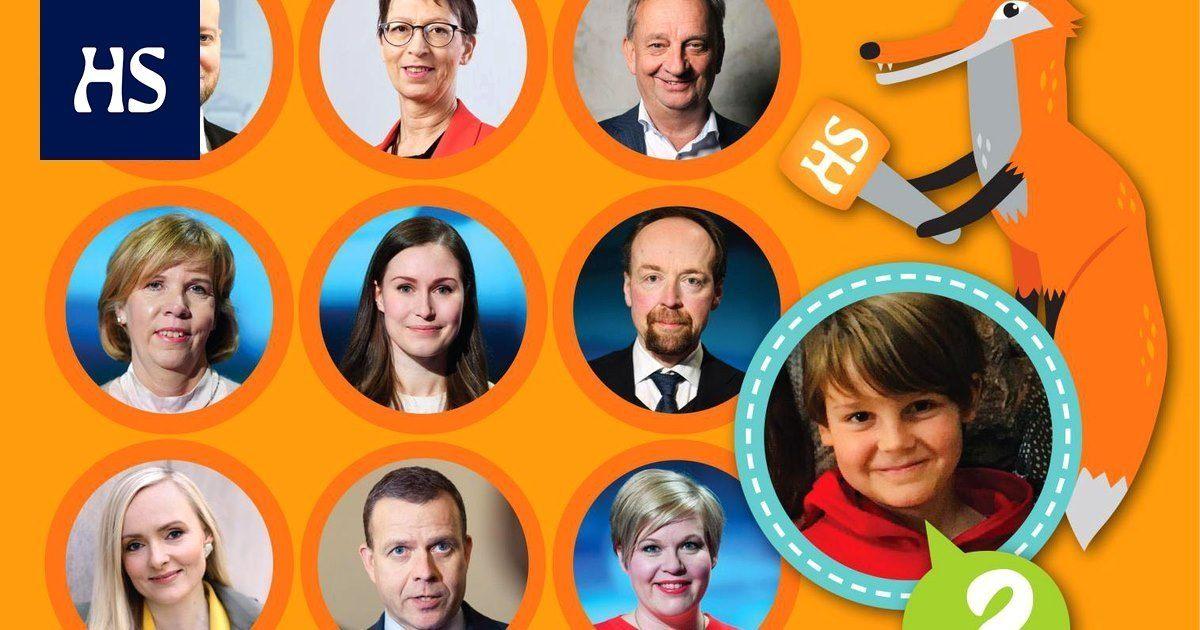Lasten uutiset | Kaikki eduskuntapuolueiden johtajat lasten tentattavana tänään – Suora lähetys Lasten uutisten vaalipaneelista kello 14.30