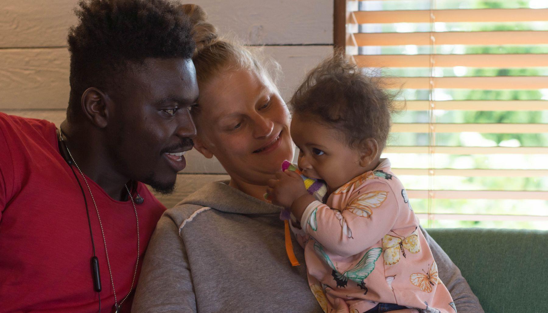 Monikulttuuriset perheet - Vauvaperhe